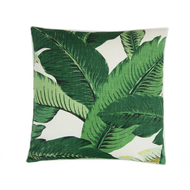 This refreshing, tropical print features swaying palm fronds in lovely shades of Green against a cream background. 7 -10...