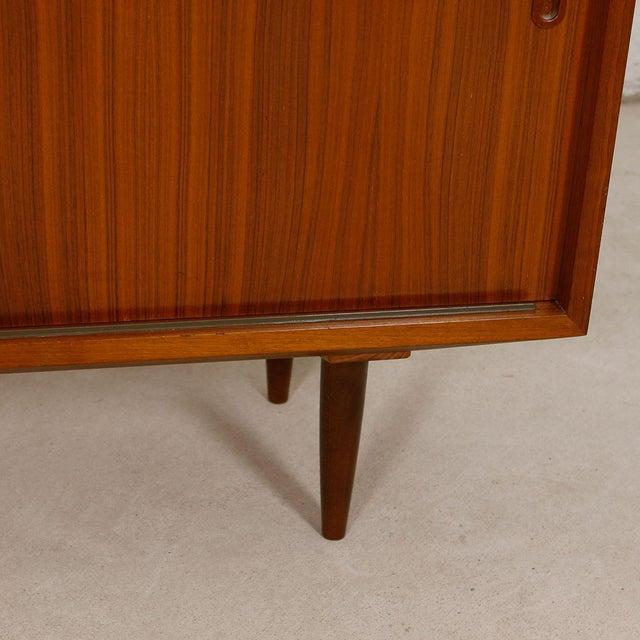 Danish Modern Walnut Sideboard/Media Cabinet - Image 8 of 10