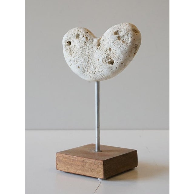 Nautical Couer (Heart) Saint Barth Sculpture By Roger Moreau For Sale - Image 3 of 5