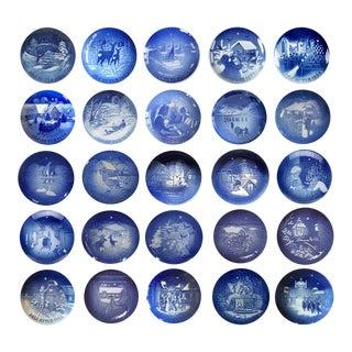 Bing and Grondahl Christmas Plates - Set of 25 For Sale