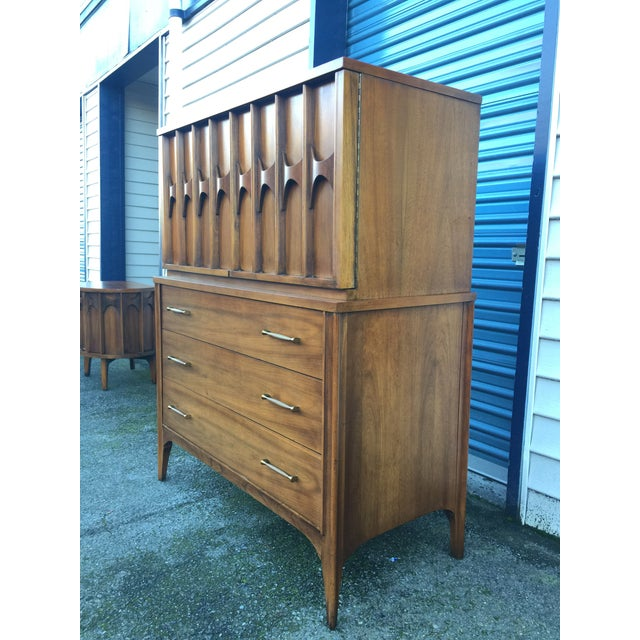 1960s Mid Century Modern Kent Coffey Perspecta Gentlemen's Chest For Sale In Seattle - Image 6 of 9