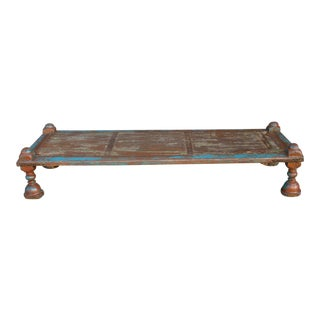 Antique Gujarat Bed Coffee Table For Sale
