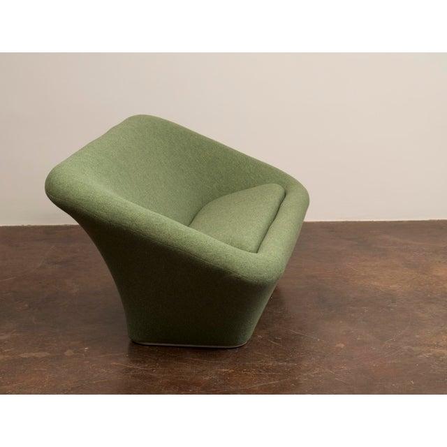 A model C565 square mushroom sofa for Artifort, designed by Pierre Paulin in 1962. This original example has been rebuilt...
