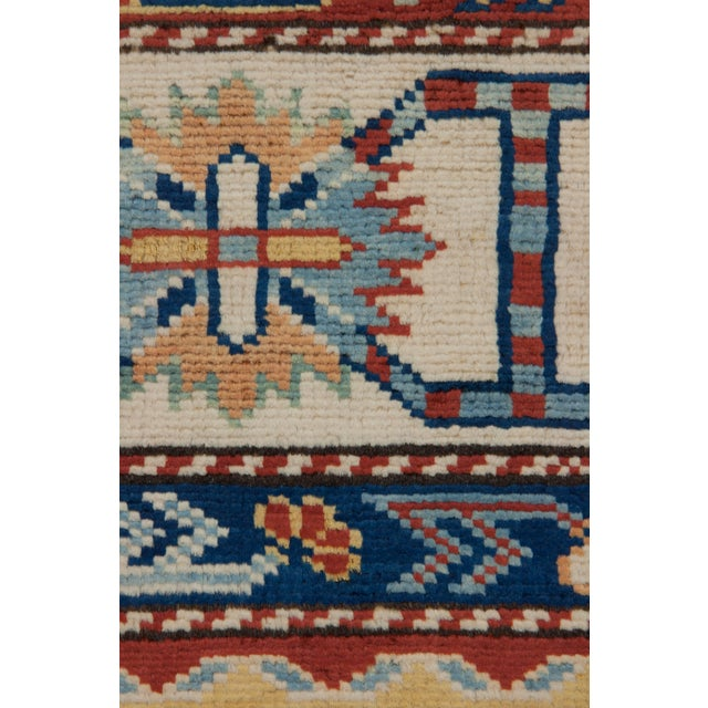 "Traditional Hand Knotted Area Rug - 5'5"" X 7' - Image 3 of 3"