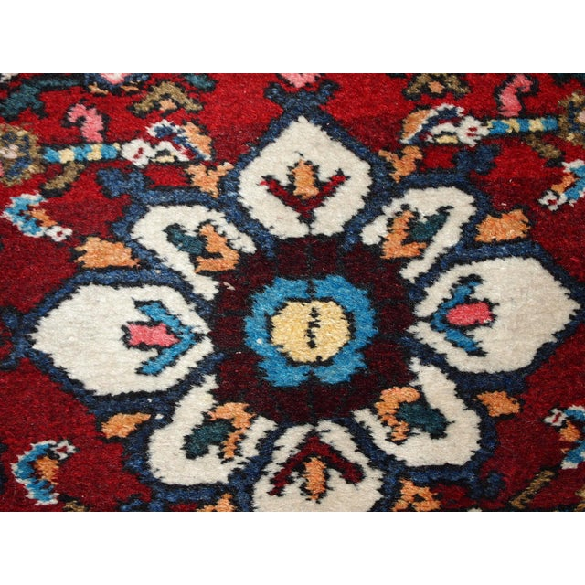 Vintage Persian Hamadan Runner- 2′7″ × 7′ For Sale In New York - Image 6 of 10