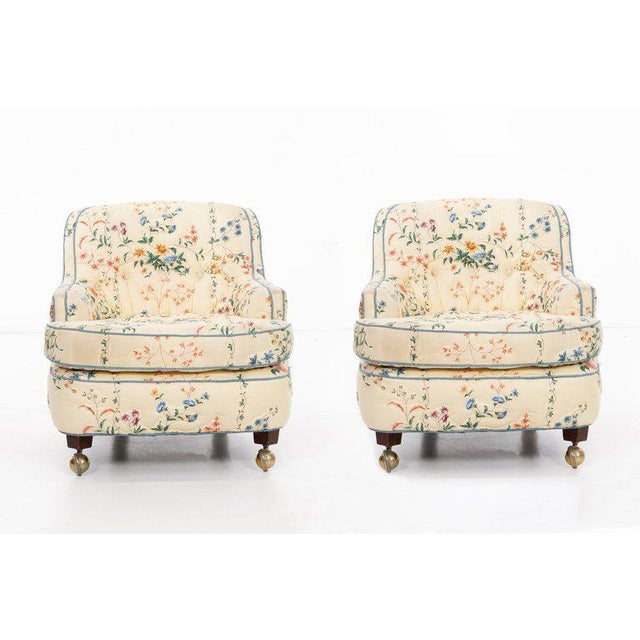Edward Wormley Pair of Chairs For Sale - Image 9 of 10