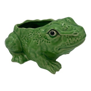 Mid 20th Century Frog Planter For Sale
