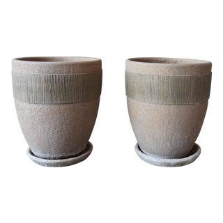 Pair of Large Hans Sumpf Pots For Sale
