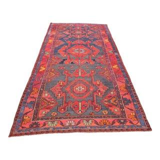1960s Decorative Sumak Floor Rug For Sale