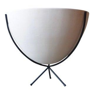 Massive John Follis Architectural Pottery Bowl For Sale