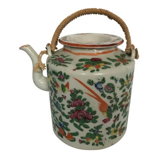 Chinese Porcelain Tea Pot For Sale