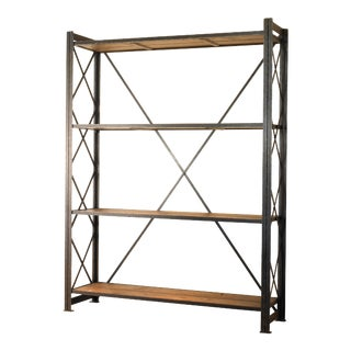Century Furniture Sheffield Factory Shelving Tower For Sale