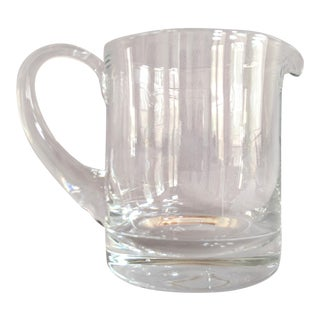 Mikasa Hand Blown Glass Pitcher For Sale