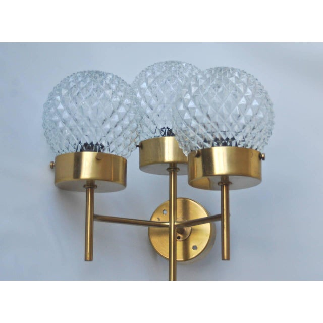 Large and Rare Pair of Wall Lights by Hans-Agne Jakobsson For Sale - Image 9 of 11