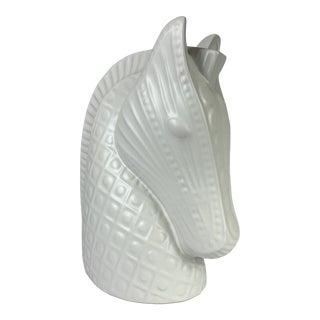 Ceramic Horse Head by Jonathan Adler For Sale