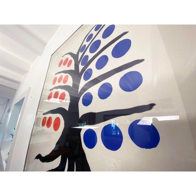 Alexander Calder Alexander Calder La Galerie Maeght Exhibition Poster - 1971 For Sale - Image 4 of 10