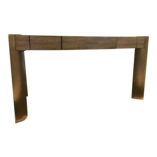 Modern Taupe Writing Desk For Sale