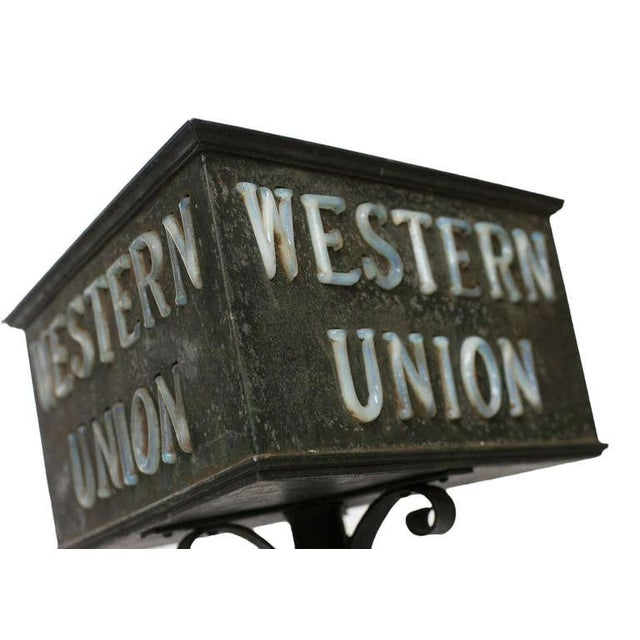 Rustic Western Union Countertop Lamp - Image 6 of 8