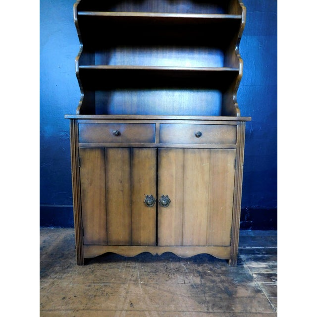 1960s Rustic Casita Wooden Hutch For Sale - Image 5 of 11