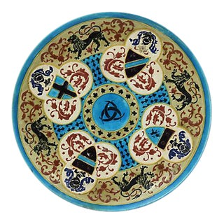 French Jules Viellard Bordeaux Plate For Sale