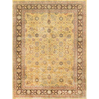 "Pasargad Tabriz Collection Rug - 8'10"" X 11'10"" For Sale"