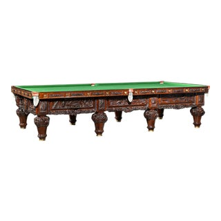 The History of Australia Billiard Table For Sale