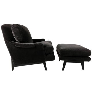 Classic Dunbar Lounge Chair and Ottoman