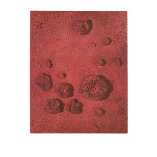 "Yves Klein Re26 35.5"" X 27.5"" Poster Modernism Red For Sale"