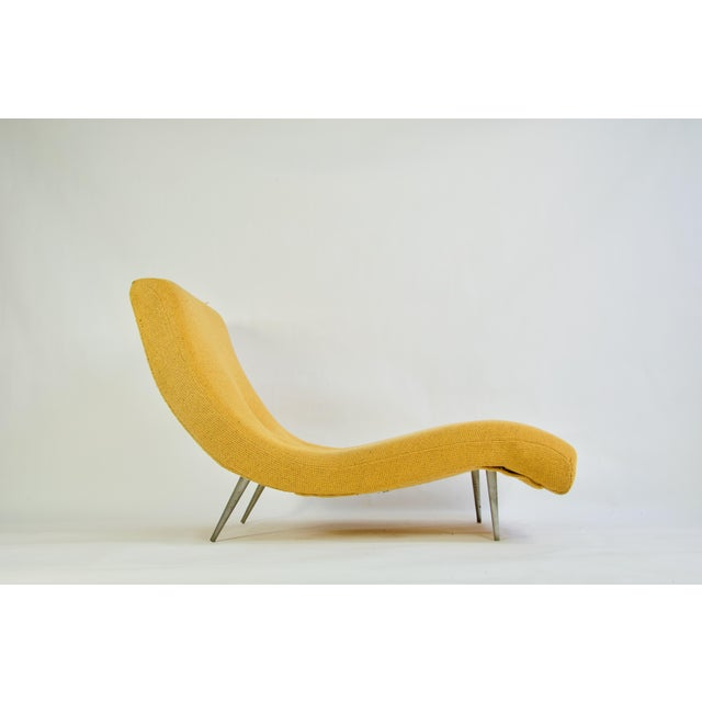 Mid-Century Modern Adrian Pearsall for Craft Associates Chaise Lounge For Sale - Image 3 of 8