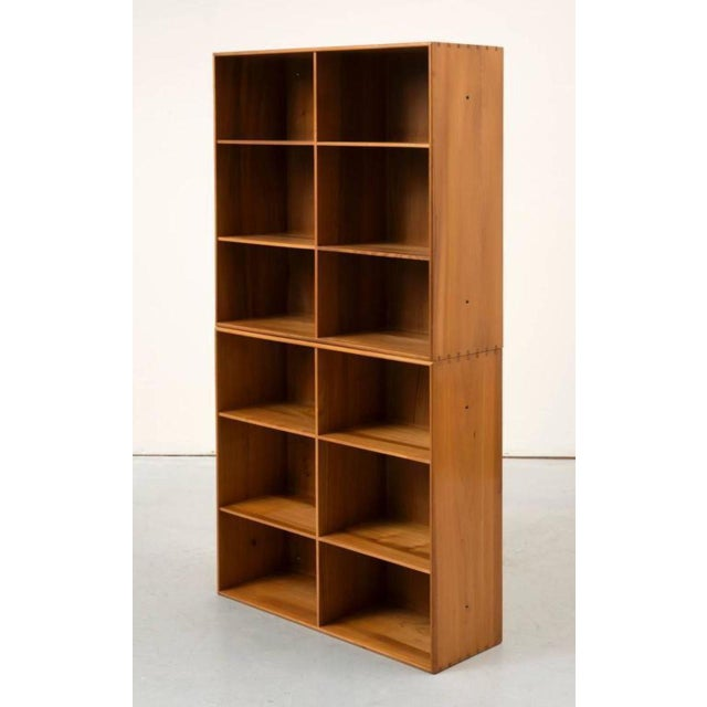 Contemporary Set of Modular Elm Bookcases by Mogens Koch For Sale - Image 3 of 8