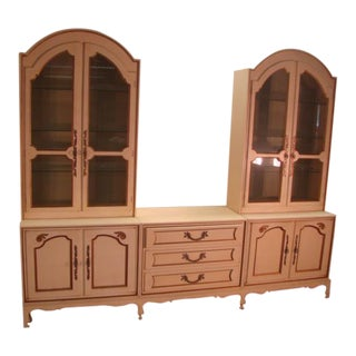 John Stuart Mt. Airy French Style China Buffet Cabinets For Sale