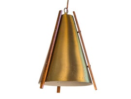 Image of Teak Pendant Lighting