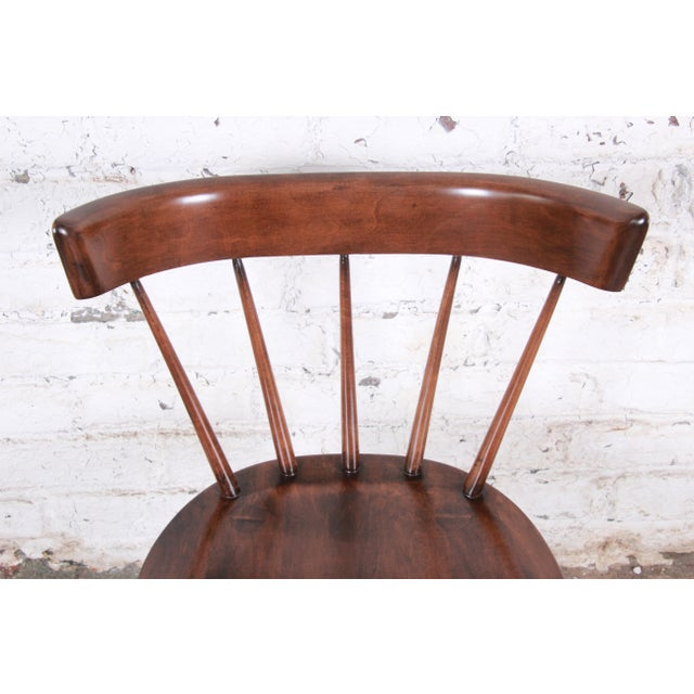 Paul McCobb Newly Refinished Planner Group Dining Chairs - Set of 6 For Sale - Image 10 of 13