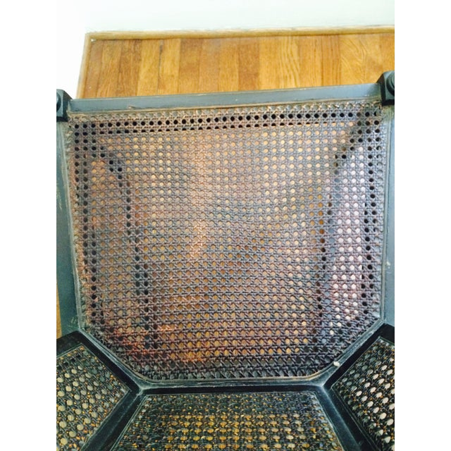 Vintage Wood & Cane Rocking Chair - Image 6 of 8