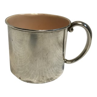 1950s Sterling Reed & Barton Baby Cup For Sale