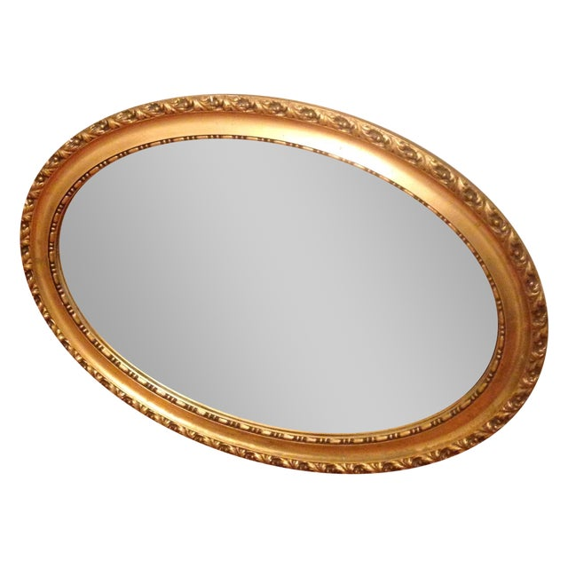 Gold Leaf Mirror - Image 1 of 3