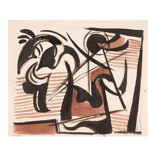 """Study of Ancient Warrior #108 A165A"" by Werner Drewes, 1945 For Sale"