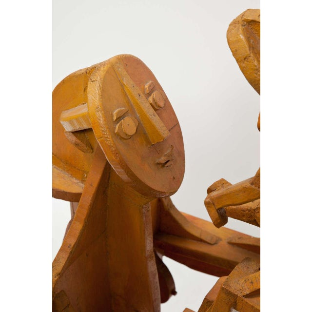 Sculpture of Mother and Child For Sale - Image 9 of 10