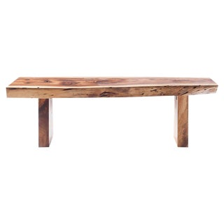 Live Edge Wooden Bench For Sale