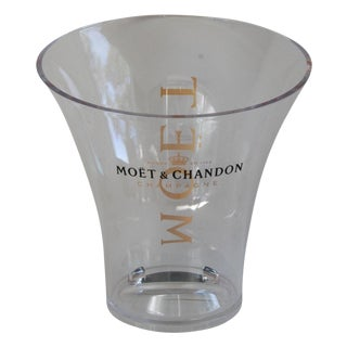 French Moët & Chandon Champagne Ice Chiller Bucket For Sale