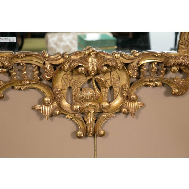 Italian Gilt Chinese Chippendale Mirrors - Pair - Image 3 of 7