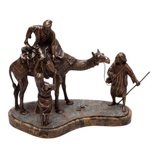 Scarborough House Sculpture Nomads Camel Statue For Sale