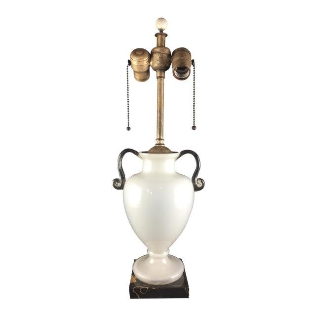 Bohemian Kralik Amphora Urn Table Lamp - Image 1 of 11