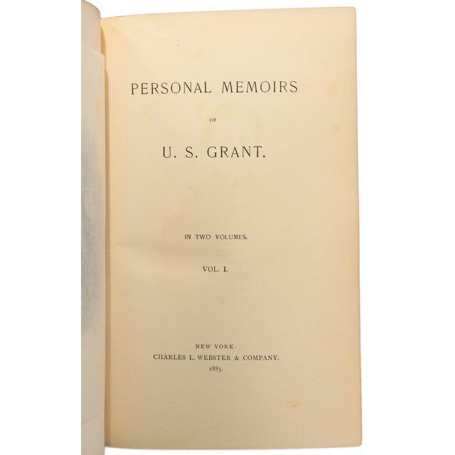 Personal Memoirs of U. S. Grant, First Ed. - Pair - Image 7 of 8