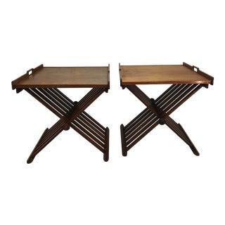 Drexel Declaration X Tables - A Pair