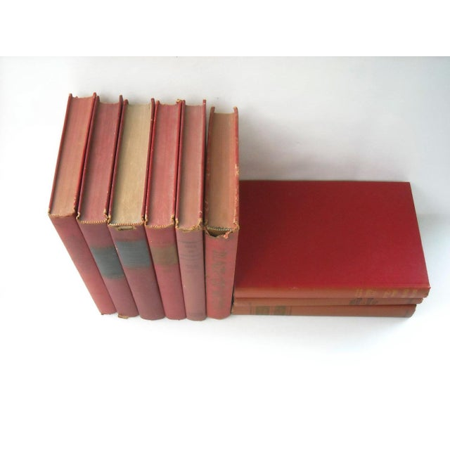 Vintage Red Book Collection - Set of 9 - Image 4 of 5