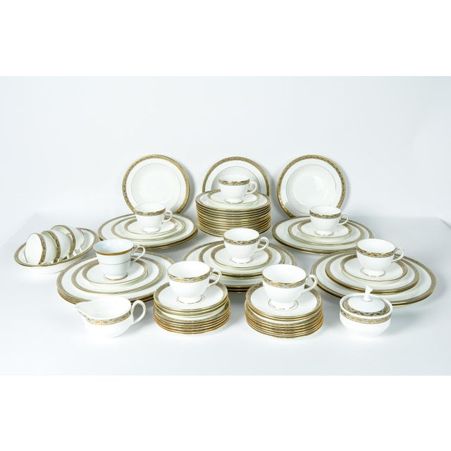 Wedgwood Mid Century Full Wedgwood Dinnerware Service for 12 - Set of 50 For Sale - Image 4 of 8