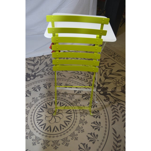 Fermob Fermob Bright Yellow Bistro Chair For Sale - Image 4 of 9