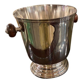 Christofle Champagne Bucket Original with Box For Sale