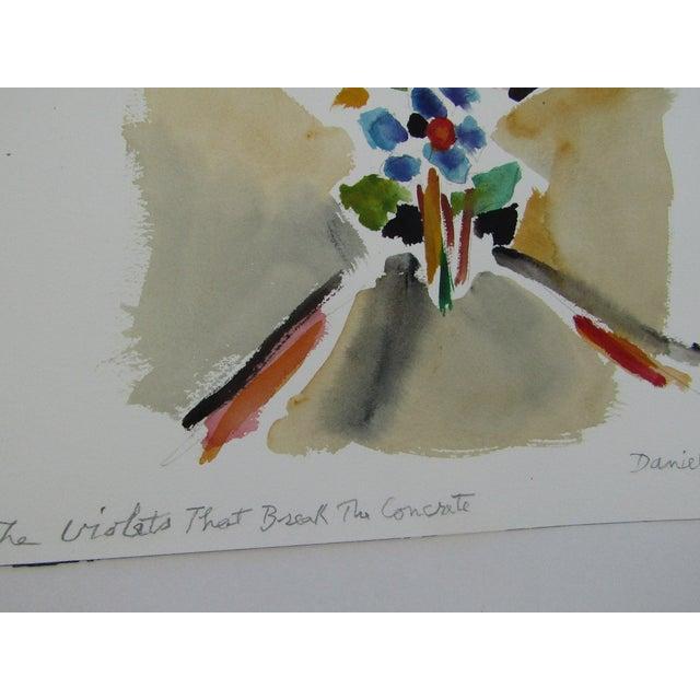 """Violets That Break the Concrete"" - Image 5 of 5"
